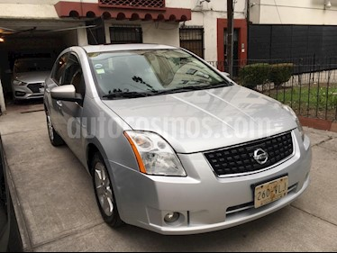 Nissan Sentra Premium CVT Xtronic usado (2008) color Plata precio $82,000