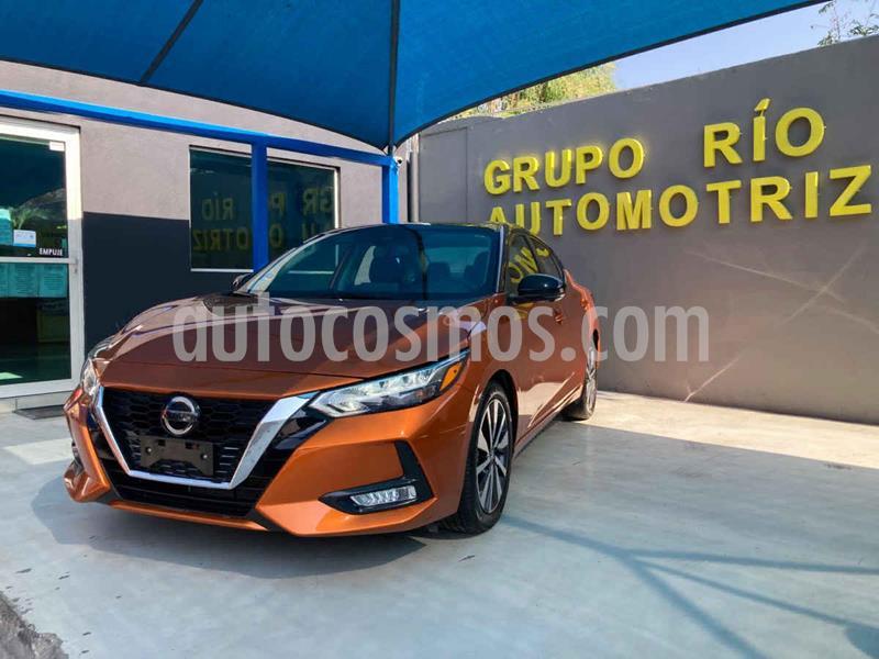 Nissan Sentra Exclusive Aut usado (2020) color Naranja precio $440,000