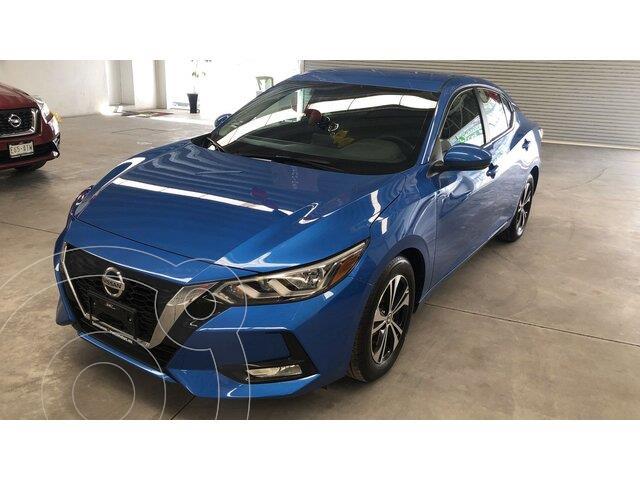 Nissan Sentra Advance usado (2020) color Azul Zafiro precio $299,000