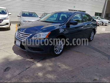 Nissan Sentra Sense usado (2016) color Azul precio $165,000
