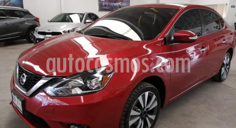 Nissan Sentra Exclusive Aut  usado (2018) color Rojo precio $249,000