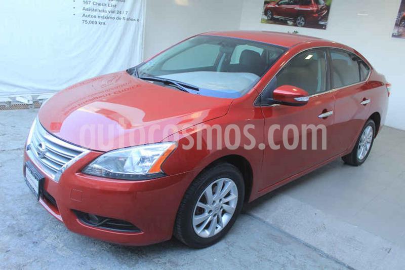 Nissan Sentra Advance usado (2015) color Rojo precio $155,000