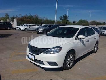 Nissan Sentra 4p Sense L4/1.8 Aut usado (2019) color Blanco precio $209,900