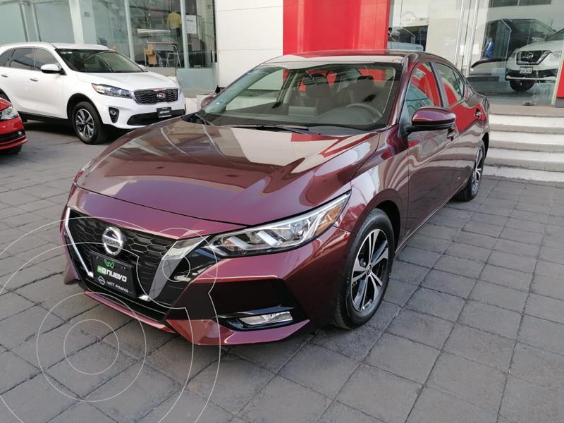 Foto Nissan Sentra Advance usado (2020) color Rojo Merlot precio $413,000