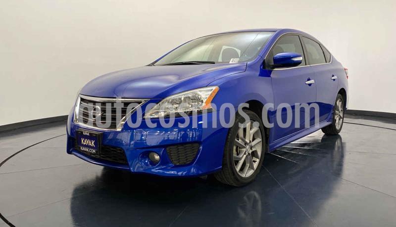 Nissan Sentra Advance Aut usado (2016) color Azul precio $204,999