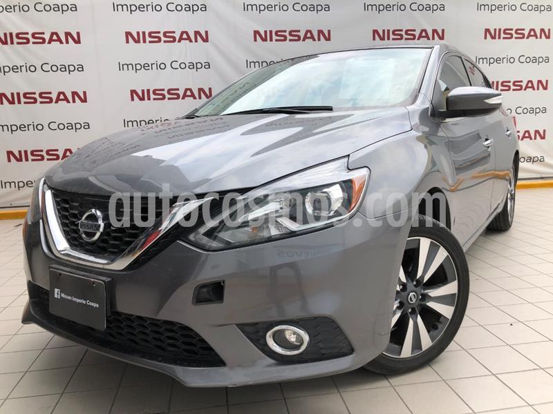 Nissan Sentra Exclusive Aut NAVI usado (2017) color Gris precio $249,000