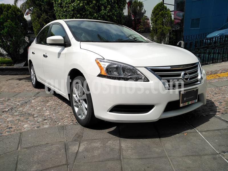 Nissan Sentra Sense usado (2016) color Blanco precio $155,000