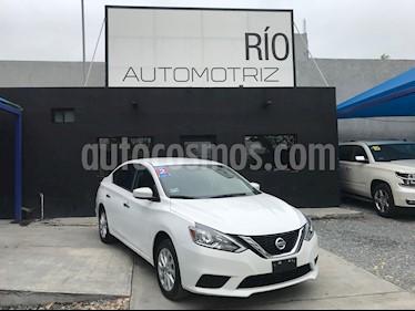 Nissan Sentra Sense Aut usado (2017) color Blanco precio $189,800