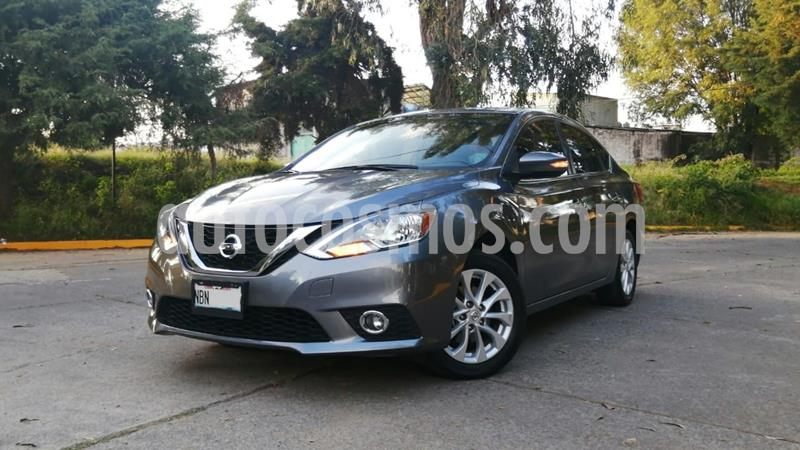 Nissan Sentra Advance usado (2017) color Gris Oscuro precio $205,000