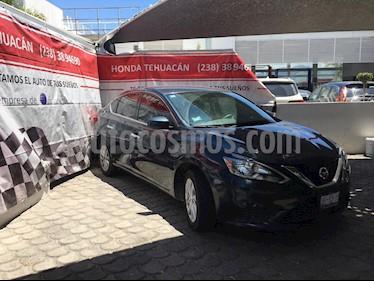 Nissan Sentra Sense usado (2018) color Azul precio $199,000