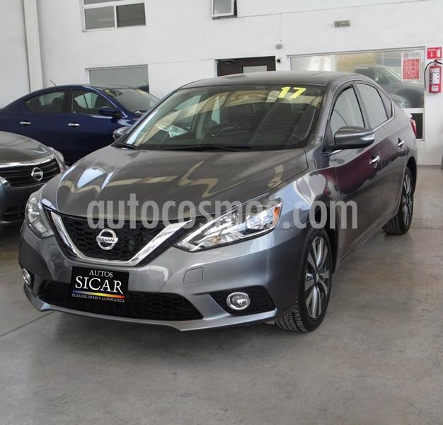 Nissan Sentra Exclusive NAVI Aut usado (2017) color Gris precio $229,000