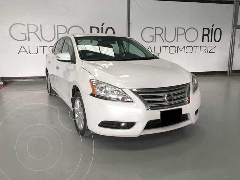 Nissan Sentra Advance Aut usado (2015) color Blanco precio $169,000
