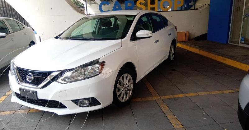 Nissan Sentra Exclusive Aut usado (2019) color Blanco precio $214,900