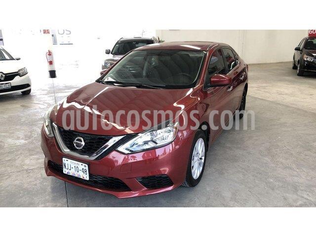 Nissan Sentra Sense usado (2018) color Rojo precio $200,000