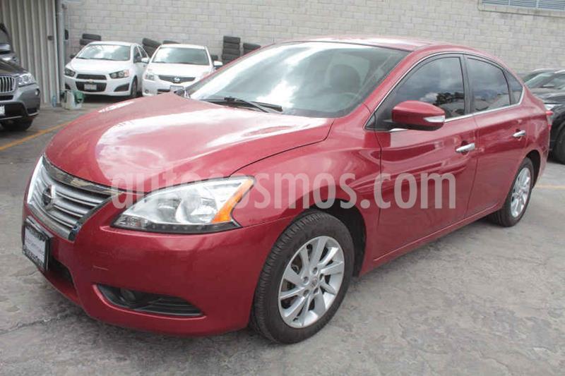 Nissan Sentra Advance Aut usado (2014) color Rojo precio $159,000