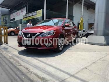 Nissan Sentra Exclusive Aut NAVI usado (2018) color Rojo Burdeos precio $60,000