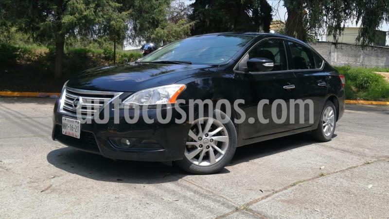 Nissan Sentra Advance usado (2015) color Negro precio $158,000