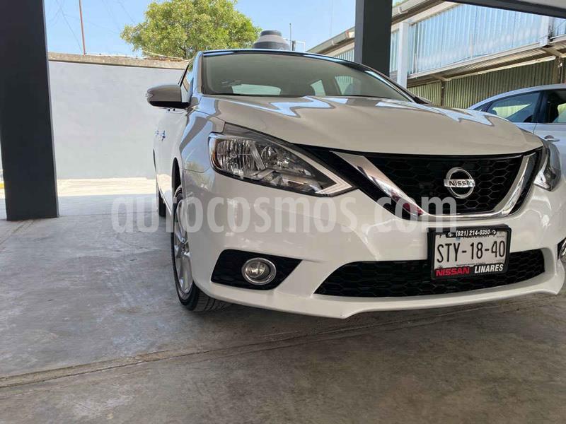 Nissan Sentra Advance Aut usado (2017) color Blanco precio $205,000