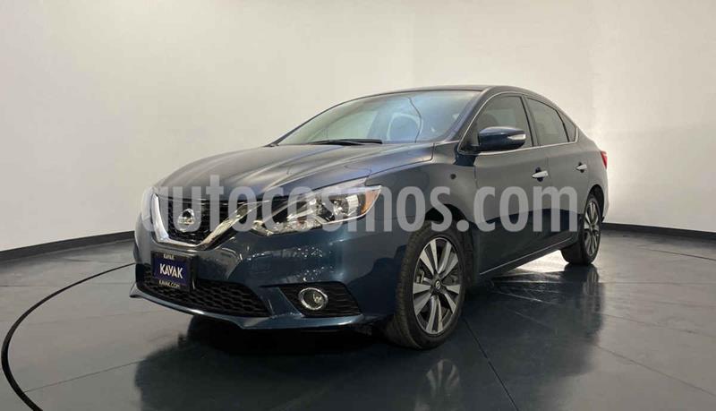Nissan Sentra Exclusive Aut NAVI usado (2018) color Azul precio $289,999