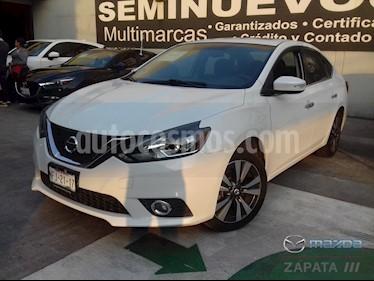 Nissan Sentra Exclusive Aut  usado (2017) color Blanco precio $60,000