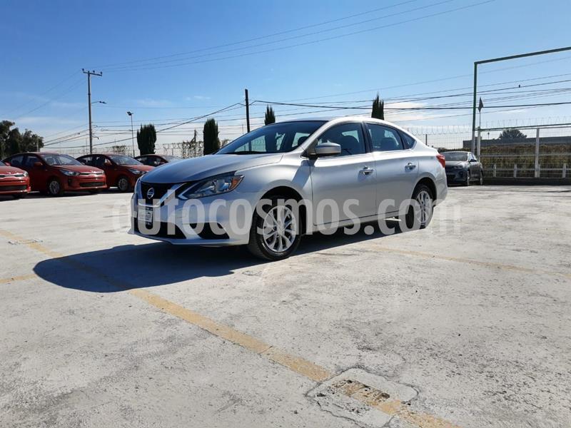Nissan Sentra Sense usado (2018) color Plata Dorado precio $190,000