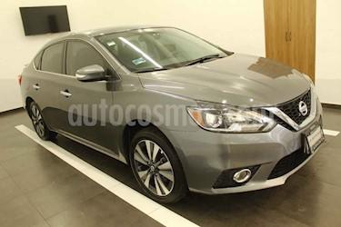 Nissan Sentra 4p Exclusive L4/1.8 Aut Nave usado (2017) color Gris precio $245,000