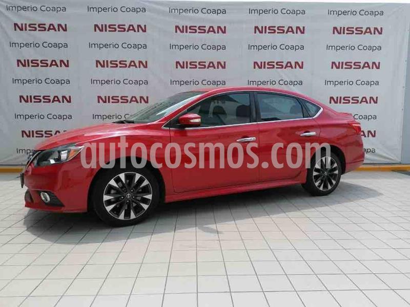 Nissan Sentra SR Turbo usado (2017) color Rojo precio $259,000