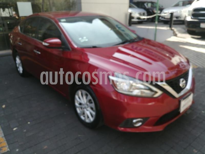 Nissan Sentra Advance usado (2017) color Rojo Cobrizo precio $193,164