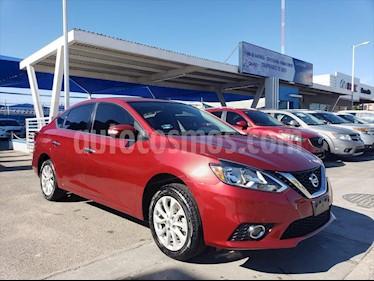 Nissan Sentra 4P ADVANCE L4/1.8 AUT usado (2017) color Rojo precio $190,000