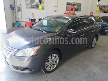 Foto Nissan Sentra Exclusive Aut usado (2013) color Gris Oxford precio $160,000