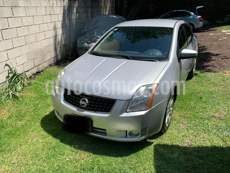Nissan Sentra Custom usado (2009) color Gris Plata  precio $79,000