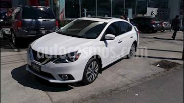 Nissan Sentra 4p Exclusive L4/1.8 Aut Nave usado (2018) color Blanco precio $240,000