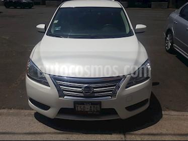 Nissan Sentra Sense Aut usado (2016) color Blanco precio $164,000