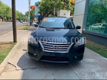 Nissan Sentra EXCLUSIVE CVT usado (2015) color Azul Electrico precio $180,000