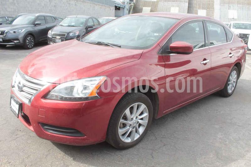Nissan Sentra Sense usado (2016) color Rojo precio $159,000