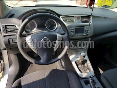 Nissan Sentra Advance usado (2015) color Plata precio $162,000