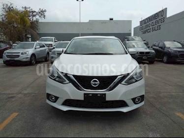 Nissan Sentra 4p Advance L4/1.8 Man usado (2018) color Blanco precio $221,000