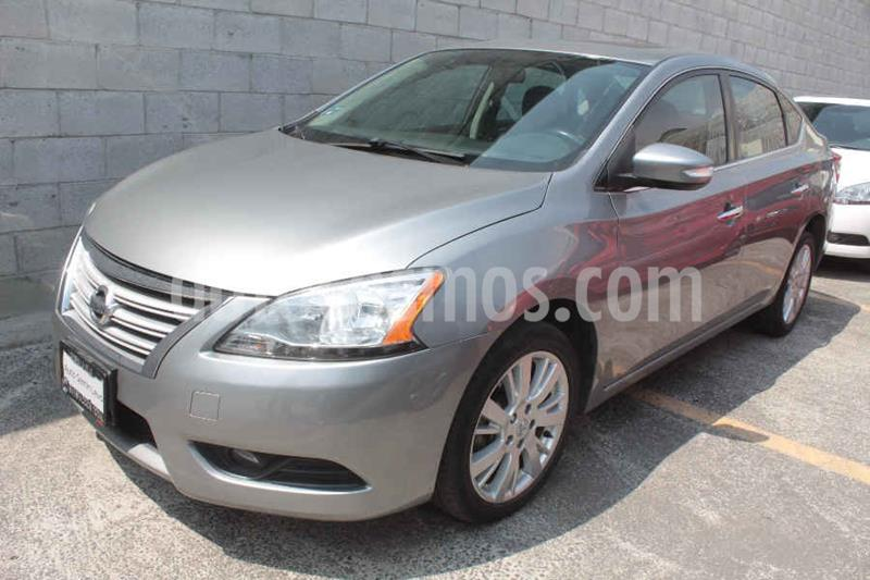 Nissan Sentra Exclusive Aut usado (2014) color Gris precio $165,000