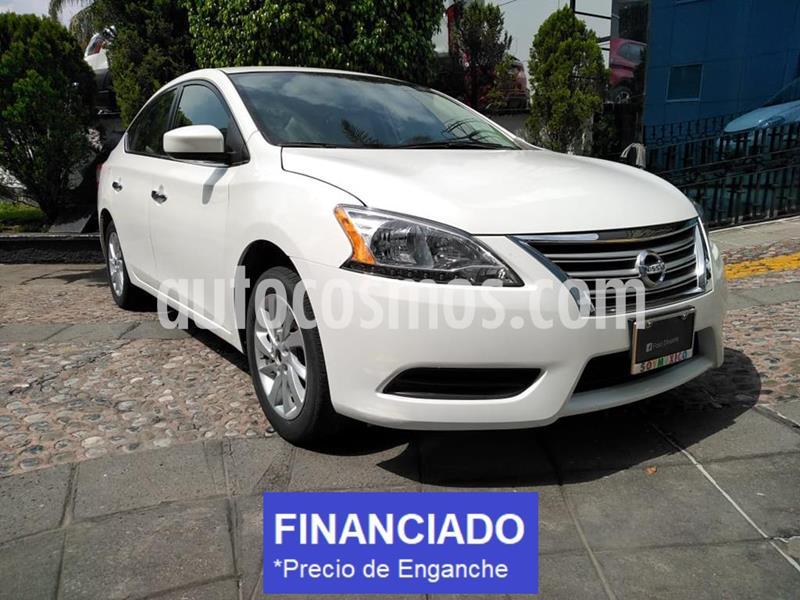 Nissan Sentra Sense usado (2016) color Blanco precio $40,000