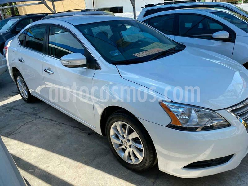 Nissan Sentra Advance Aut usado (2015) color Blanco precio $189,900