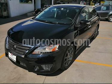 Nissan Sentra SR NAVI Aut usado (2013) color Negro precio $160,000