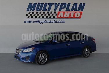 Nissan Sentra SR Aut usado (2015) color Azul precio $196,500