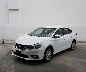 Nissan Sentra Advance Aut usado (2017) color Blanco precio $235,000