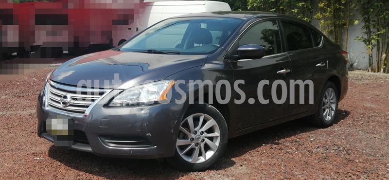 Nissan Sentra Advance usado (2016) color Acero precio $155,000