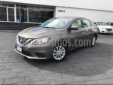 Nissan Sentra 4p Sense L4/1.8 Aut usado (2018) color Gris precio $174,900