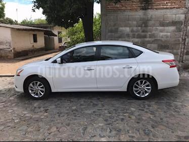 Nissan Sentra Advance usado (2016) color Blanco precio $170,000