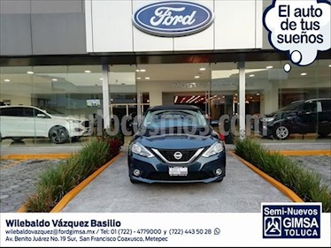 Nissan Sentra Advance Aut usado (2018) color Azul Marino precio $199,000