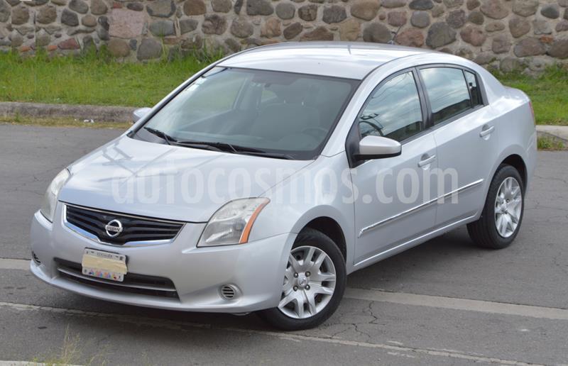 Nissan Sentra Custom CVT Xtronic usado (2012) color Plata precio $98,000