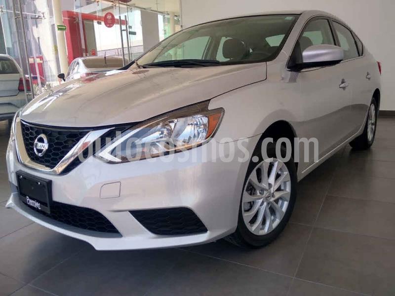 Nissan Sentra Sense Aut usado (2018) color Plata precio $225,000