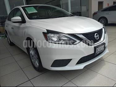 Nissan Sentra 4P SENSE L4/1.8 AUT usado (2017) color Blanco precio $235,000